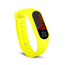 Relogio Digital de relógio das Mulheres dos homens Relógios montre homme Inteligente Anel da Mão relógio Do Esporte Relógios Led Moda Esportes Eletrônicos relógio(China)
