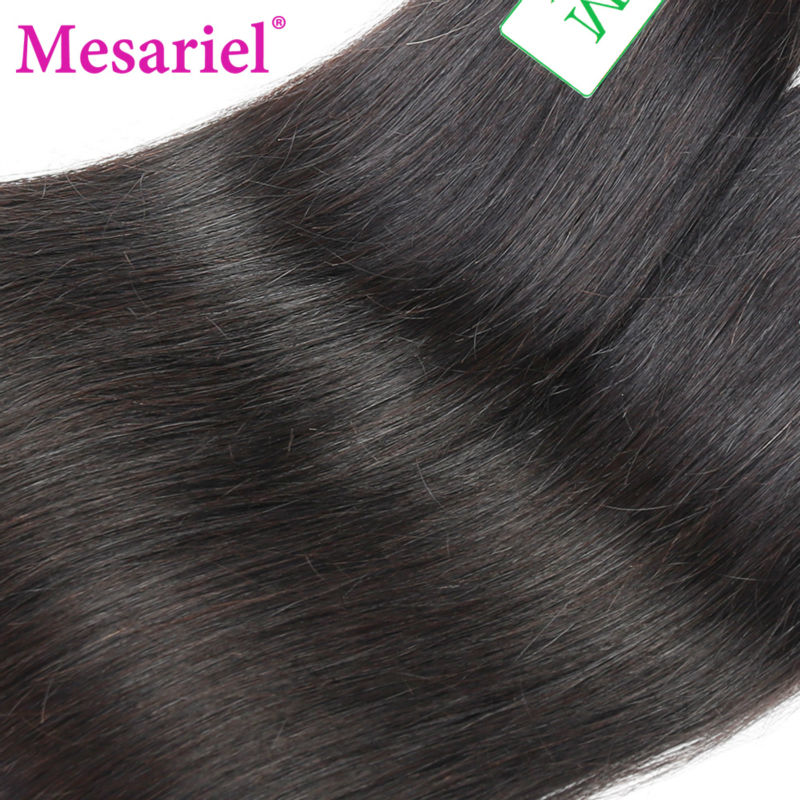 Ms Ariel Hair Products Malaysian Virgin Hair Straight 3 Bundles Unprocesssed Malaysian Virgin Hair Straight Human Hair Bundles