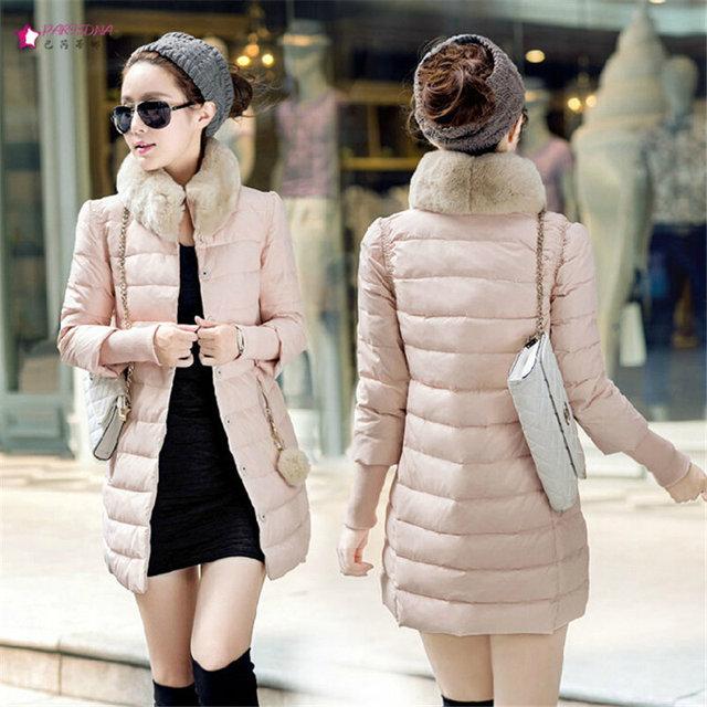 Aliexpress.com : Buy Korean Winter Coat Women Casual Slim Thinrex