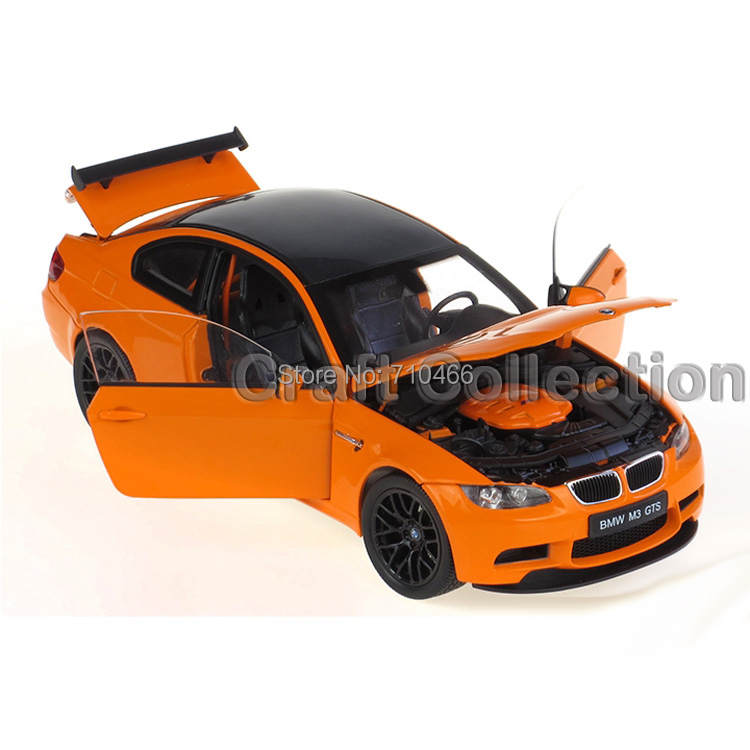 1/18 Car Model for BMW M3 GTS Coupe Sport Car Kid Toys Model Hot Selling Alloy Brinquedos(China (Mainland))