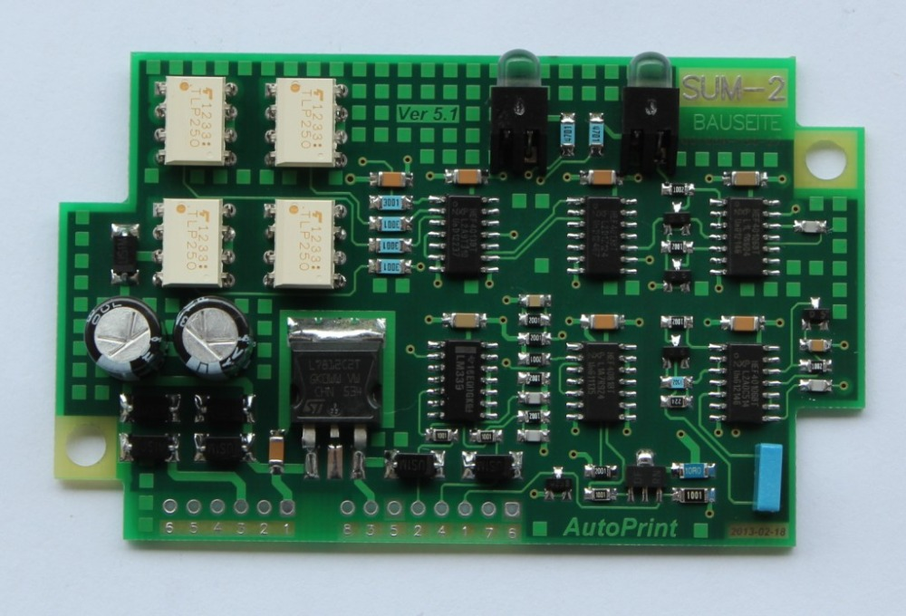 Фотография SUM2 61.110.1341/01 amplifier circuit board for Heidelberg printing machine CD102 SM102 Compatible New