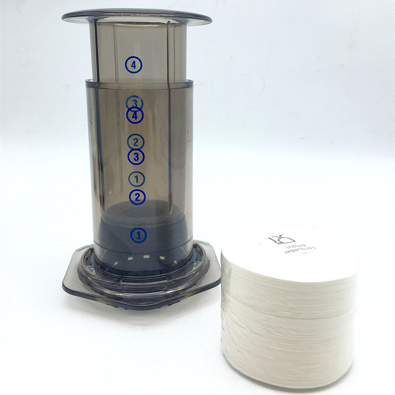 Best Coffee Maker With Paper Filter : 350 / bag filtro aeropress professional filter paper / filter paper drip coffee filters coffee ...