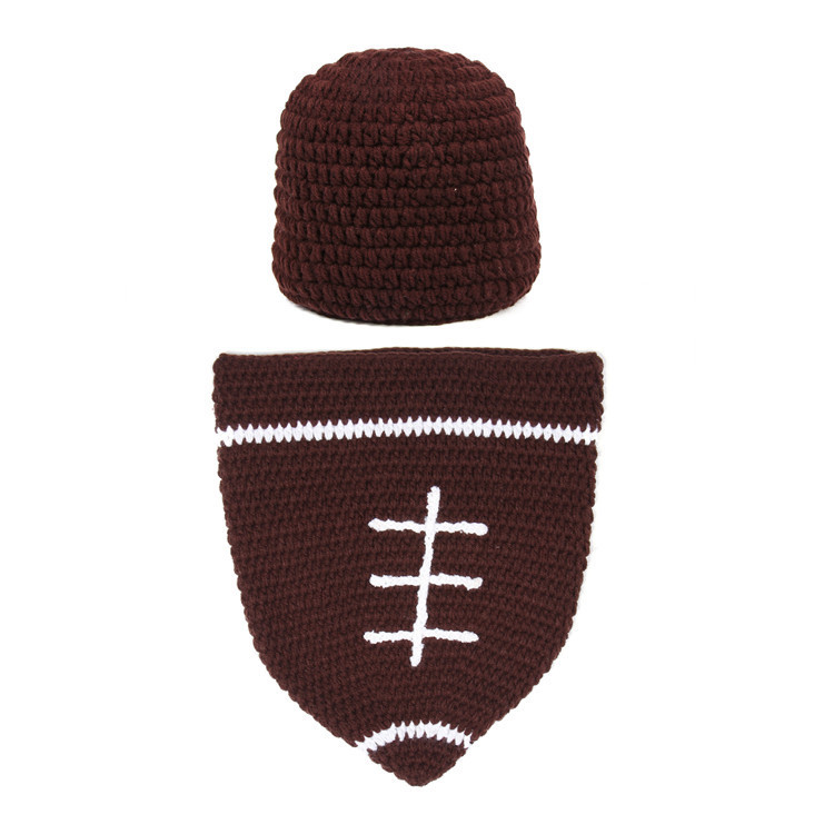 Knitting Photography Props : Hot sale newborn stripe brown knitting photography