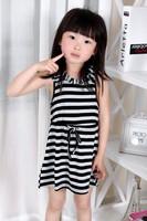 Розничная 2015 новых детей дети ребенка платья девушки платье принцессы горошек богемы случайных платье платье