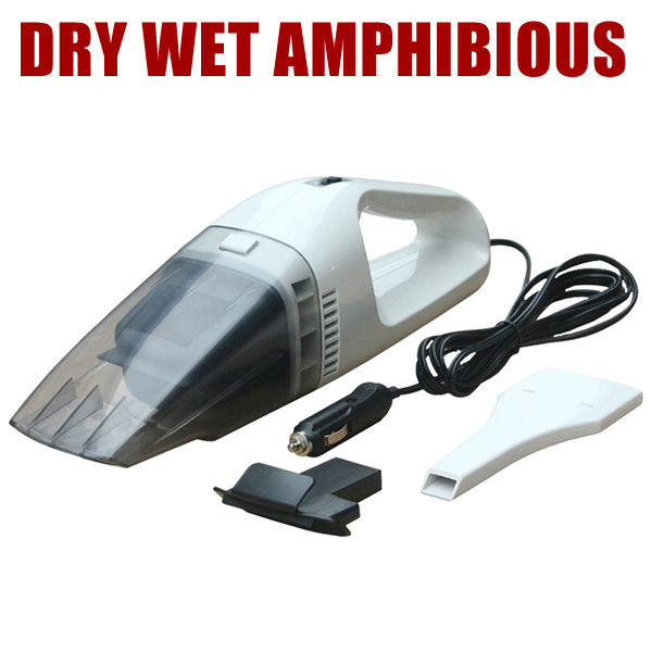 FREE SHIPPING! Car Vacuum Cleaner wet and dry dual-use 60w high power Auto vacuum dry wet amphibious wireless king smart ON SALE(China (Mainland))