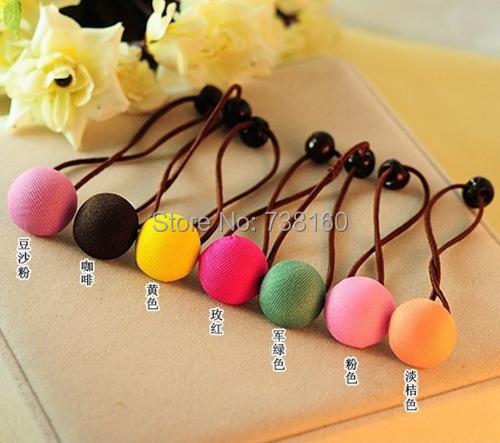 Free Shipping,Min.Order Is $5 (Mix Order),Sweet little circle loops mushroom cloth art hair band(China (Mainland))