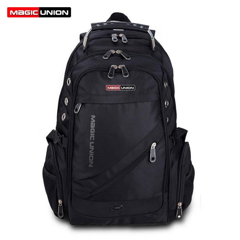 MAGIC UNION Brand Design Men's Travel Bag Man Backpack Polyester Bags Waterproof Shoulder Bags Computer Packsack Wholesale(China (Mainland))
