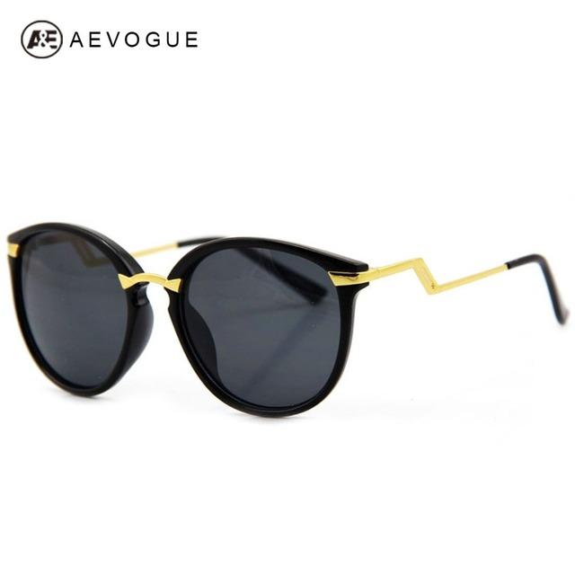 Aevogue бесплатная доставка новые Z металлический храм мода очки женщин разноцветные оптические солнцезащитные очки UV400 AE0099
