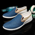 Fashion Men Canvas Shoes Summer Breathable Men Loafers Flat Shoes Sapatos Masculinos Slip on Casual Driving
