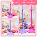 2016 New 7Pcs/lot Doll Equipment For Barbie Dolls / Monster Hight Dolls Kitchen Cake Play Home Toys for Women Child#T03014