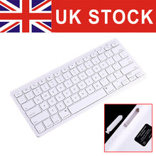 UK STOCK Ultra-Slim 10m Bluetooth Wireless Keyboard with 78 Keys Specially for Computer Smartphone Tablet Laptop PC Notebook(China (Mainland))
