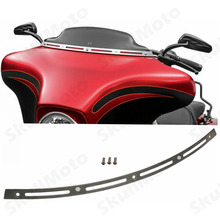 Motorcycle Accessories Batwing Fair Windshield Windscreen Trim for Harley Touring 1996-2013(China (Mainland))