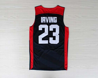 #23 Kyrie Irving Jersey,Dream Team Authentic Jersey,USA 2012 Olympic Games Basketball Jersey,Best quality,Size S--XXXL(China (Mainland))