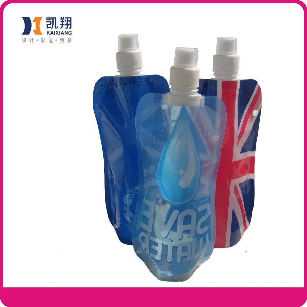 2014 Colorful Outdoor Water Bottle Bladder Sports Squeeze bedidas Drinking Pouch Container Bag Opp 40 - Taizhou Kaixiang Trade Co., Ltd. store