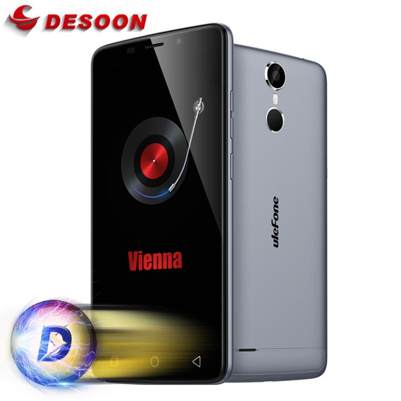 """5.5"""" Ulefone Vienna Mobile Phone 4G Android 5.1 MTK6753 Octa Core Smartphone 3GB RAM 32GB ROM 13MP Touch ID Glonass(China (Mainland))"""