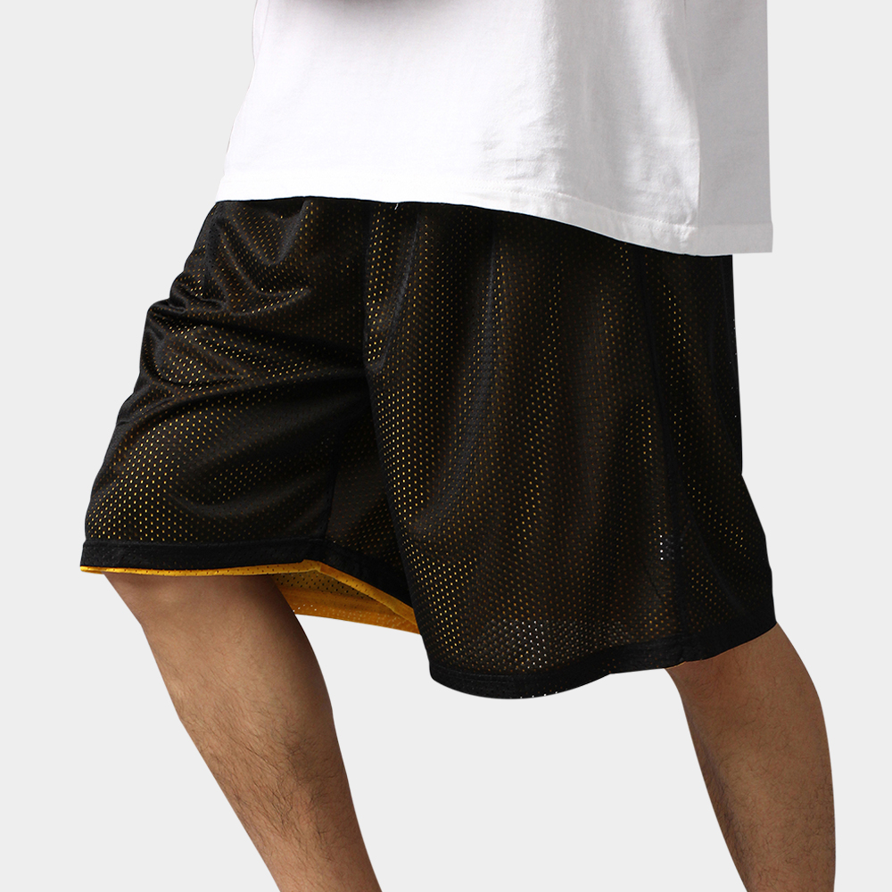 2017 Hot High Quality Reversible Casual Shorts Men Summer Double-Way Breathable Sporting Basketballs Shorts