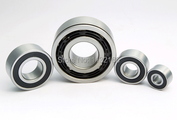 Double Row Angular Contact Ball Bearing 5212-2RS 60mm*110mm*36.5mm Bearing Steel High Revolving Speed