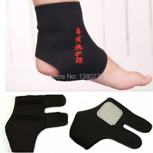 2Pairs Magnetic Therapy Spontaneous Self-heating Ankle Brace Support Belt Foot Health Care b1P3pj