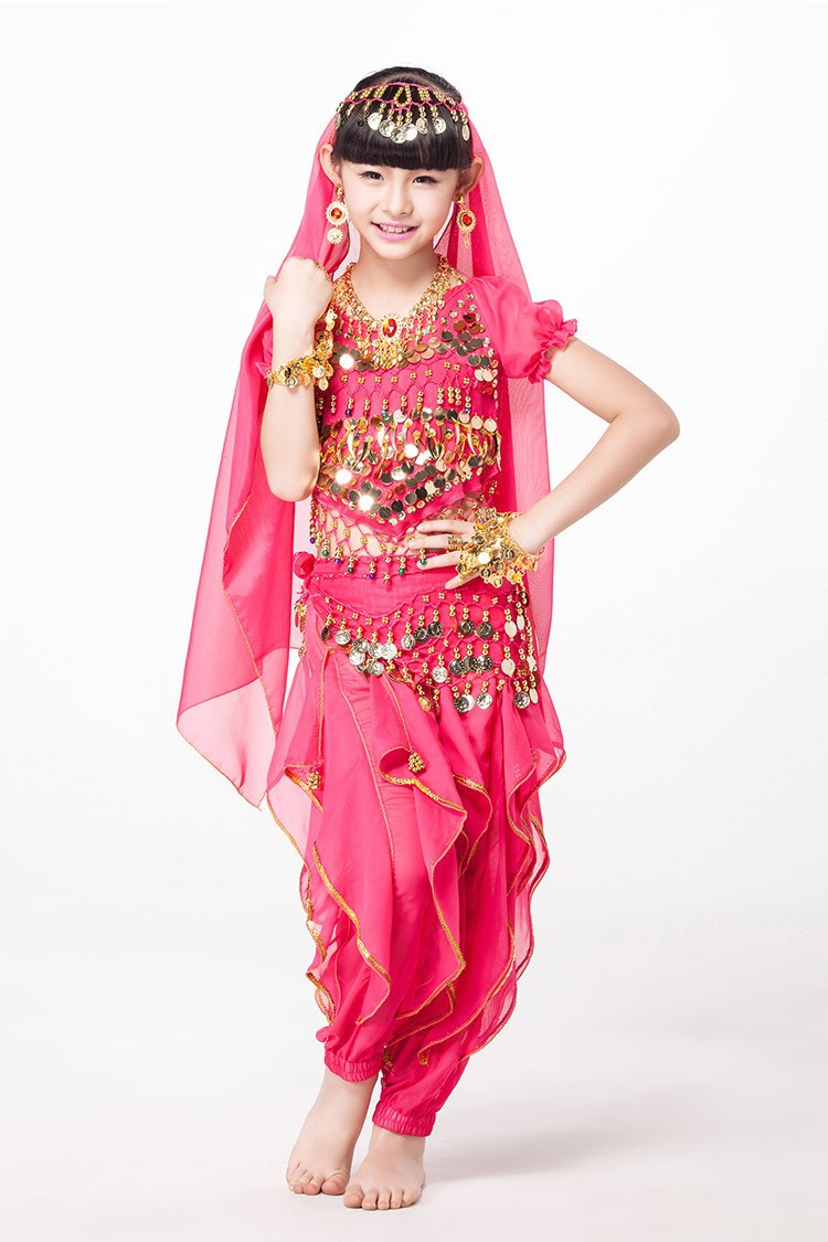 getSubject() aeProduct.  sc 1 st  DHgate.com & 2018 Bollywood Costumes Children Indian Set Costume Top Belt Pants ...