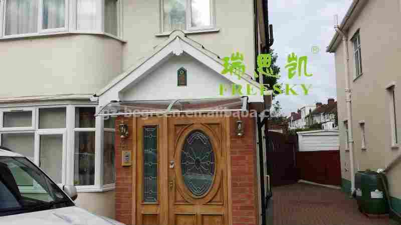 Yp60160 60x160cm freesky door rain canopy window for Balcony canopy