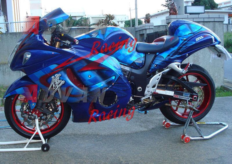 For Suzuki Hayabusa GSXR1300 2008 2009 2010 2011 2012 2013 2014 ABS Plastic motorcycle Fairing Kit GSXR1300 08-14 GSXR 1300 C12