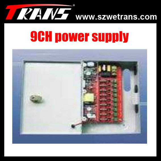 Hot sale 9CH CCTV Power supply