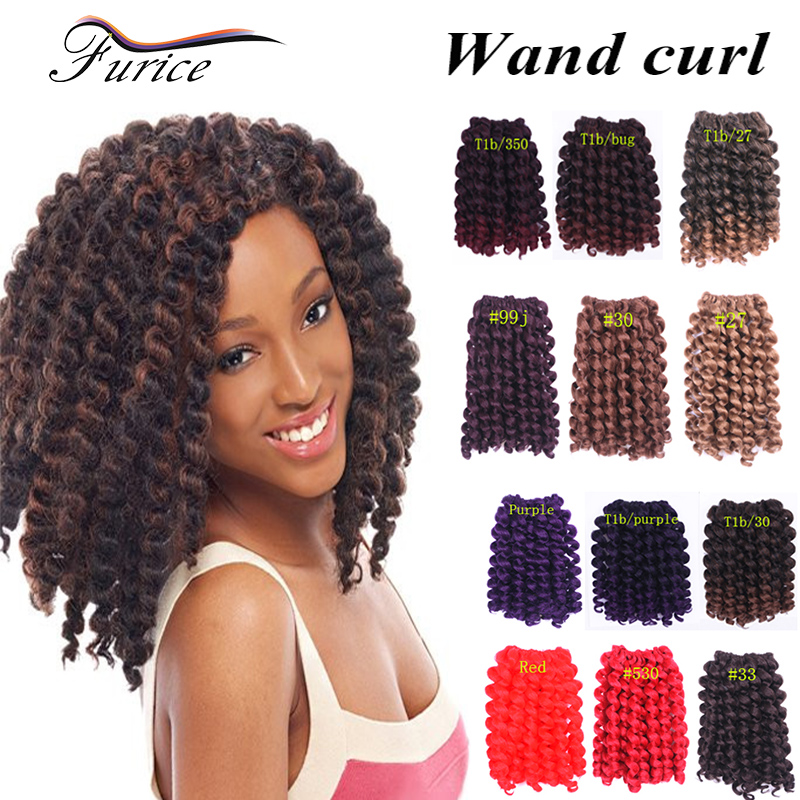 Crochet Hair Online Uk : Cheap Synthetic Hair Crochet Braids 2X Ringlet Wand Curl Hair ...