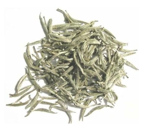 Organic White Silver Needle Tea , Bai Mao Yin Zhen 150g