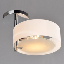 Simple Chrome Finish Acrylic Chandelier With 1 Lights(China (Mainland))