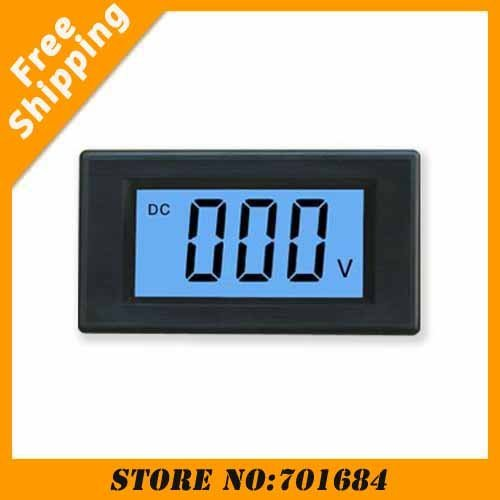 New LCD Display Blue Digital Volt Meter Voltage Panel DC 7.5-20V Doesn't Require Power [K176]