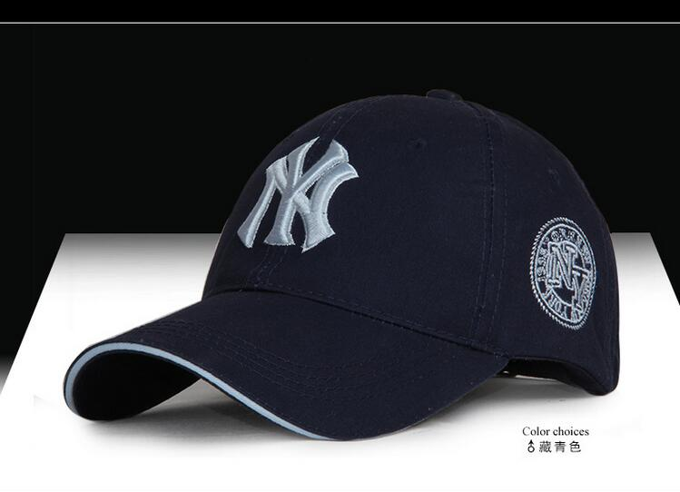 Hot Selling Summer male and female couple models Yankee cap hat baseball cap outdoor sun visor cap letters printing solid colors(China (Mainland))