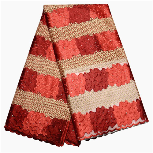 New African Lace Fabric 2016.High Quality French Tulle Lace Fabric For Wedding Dress.Wholesale Nigerian Guipure Lace Fabric(China (Mainland))