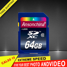 Transcend 64GB 32GB 16GB SD Card Class10 flash Memory Card 8GB universal full size micro sd card For Digital Camera(China (Mainland))