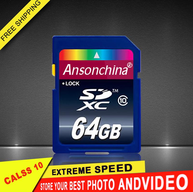 Transcend 64GB 32GB 16GB SD Card Class10 flash Memory Card 8GB universal full size micro sd card For Digital Camera(China (Mainland))