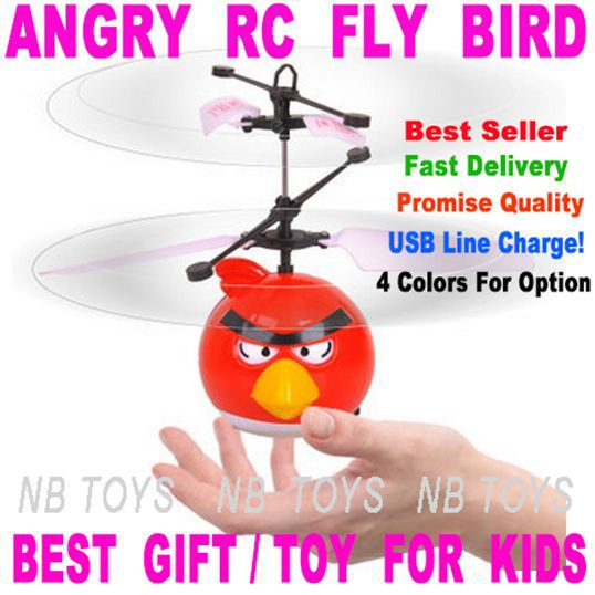 Best Seller-Upgrate-Classic Electric Electronic Toys RC Flying Fly Bird Helicopter UFO Quadcopter Ar.drone Drone For Kids(China (Mainland))