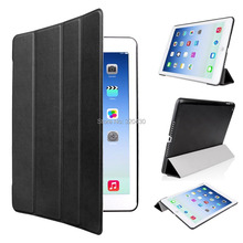 Ultra Slim Pad Air 2 Smart Cover case with Stand / Auto Sleep Wake-up for Apple iPad Air 2 / iPad 6 pu leather case