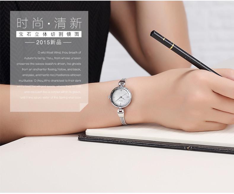 Новый юлий леди женские наручные часы кварцевых часов лучший мода платье корея браслет офис змея цепи бизнес девушка подарок 717