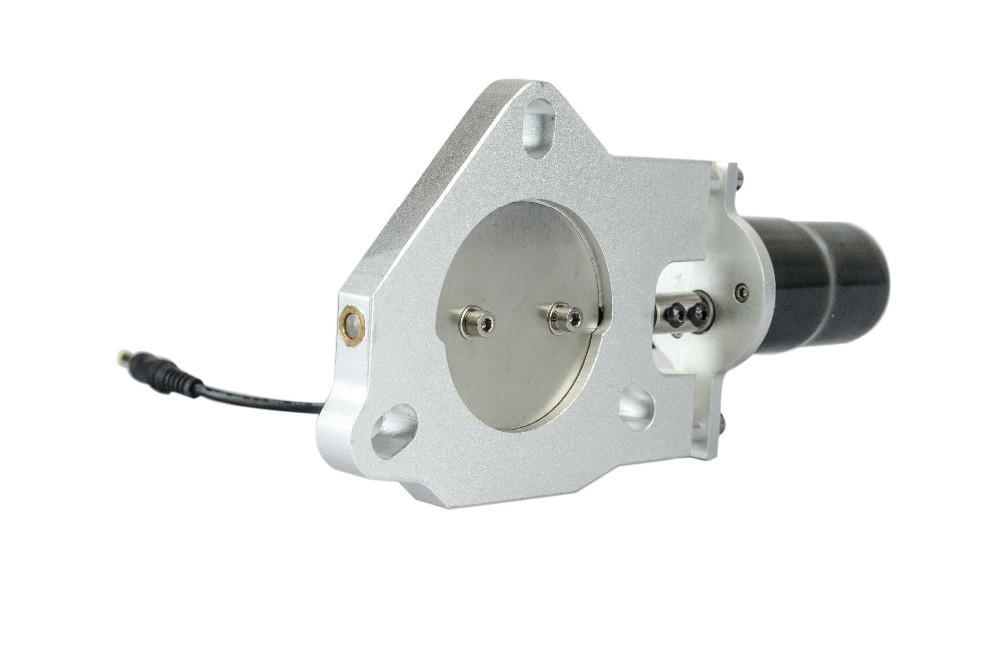 Exhaust Butterfly Valve ~ Inch universal exhaust cutout billet butterfly valve