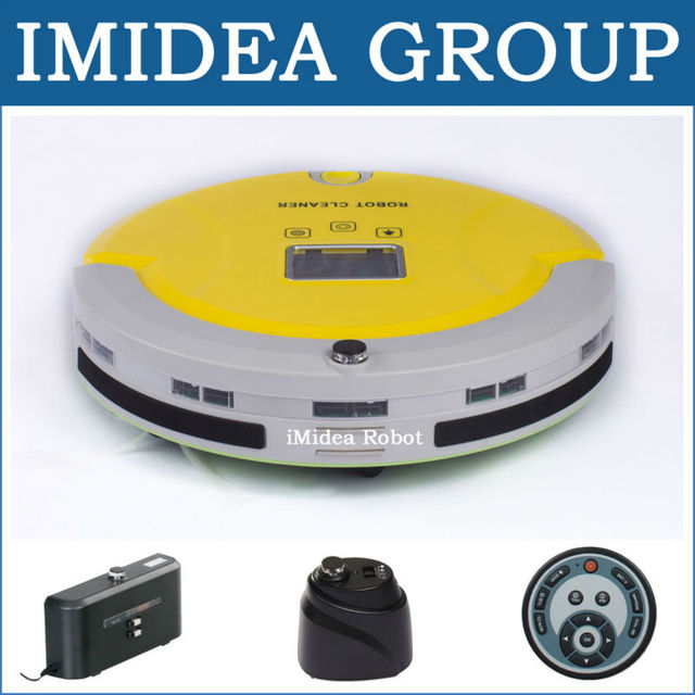 Buy 5 In 1 Multifunction Robotic Vacuum Cleaner in New Zealand LCD,Sterilize,Schedule,Auto Charge,2 Virtual Wall,Avoid Bumping