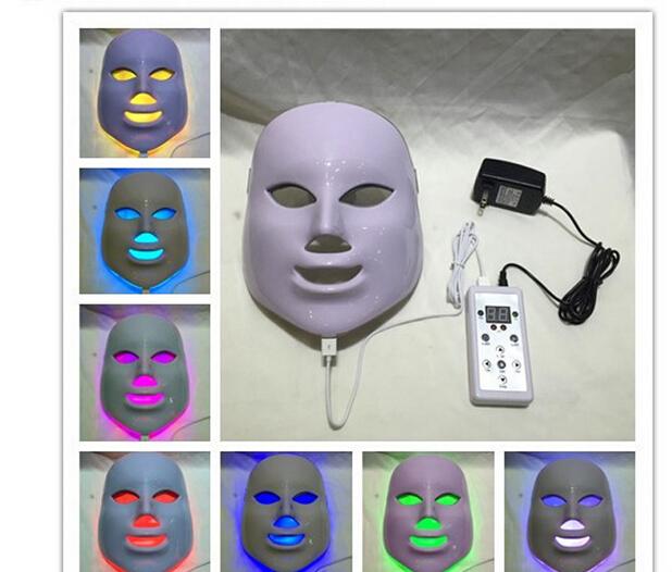 LED Mask 3/7 Color LED Photon Facial Mask Wrinkle Acne Removal Face Skin Rejuvenation Moisturizing Face Massage Beauty Device