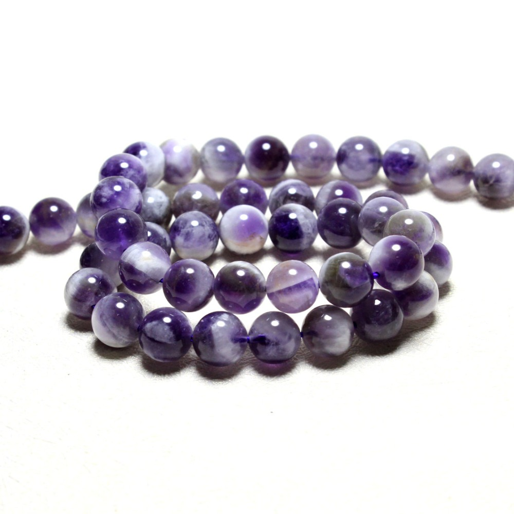 wholesale new arrival natural amethystine crystal beads