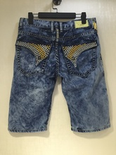 2015 New summer style robin jeans shorts for men denim fit Straight in Jeans cowboy high fashion us jeans size 32-42(China (Mainland))