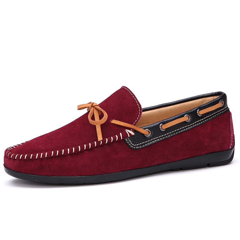 2015 new fashion dress shoes casual leather flats driving