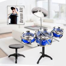 Children Mini Jazz Drum Kit Toy Musical Instrument  Kids Toys Educational Development Baby Toys drum set birthday gift(China (Mainland))