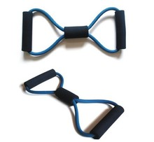 New 2014 Resistance Band Tube Workout Exercise Elastic Band Fitness Equipment Yoga