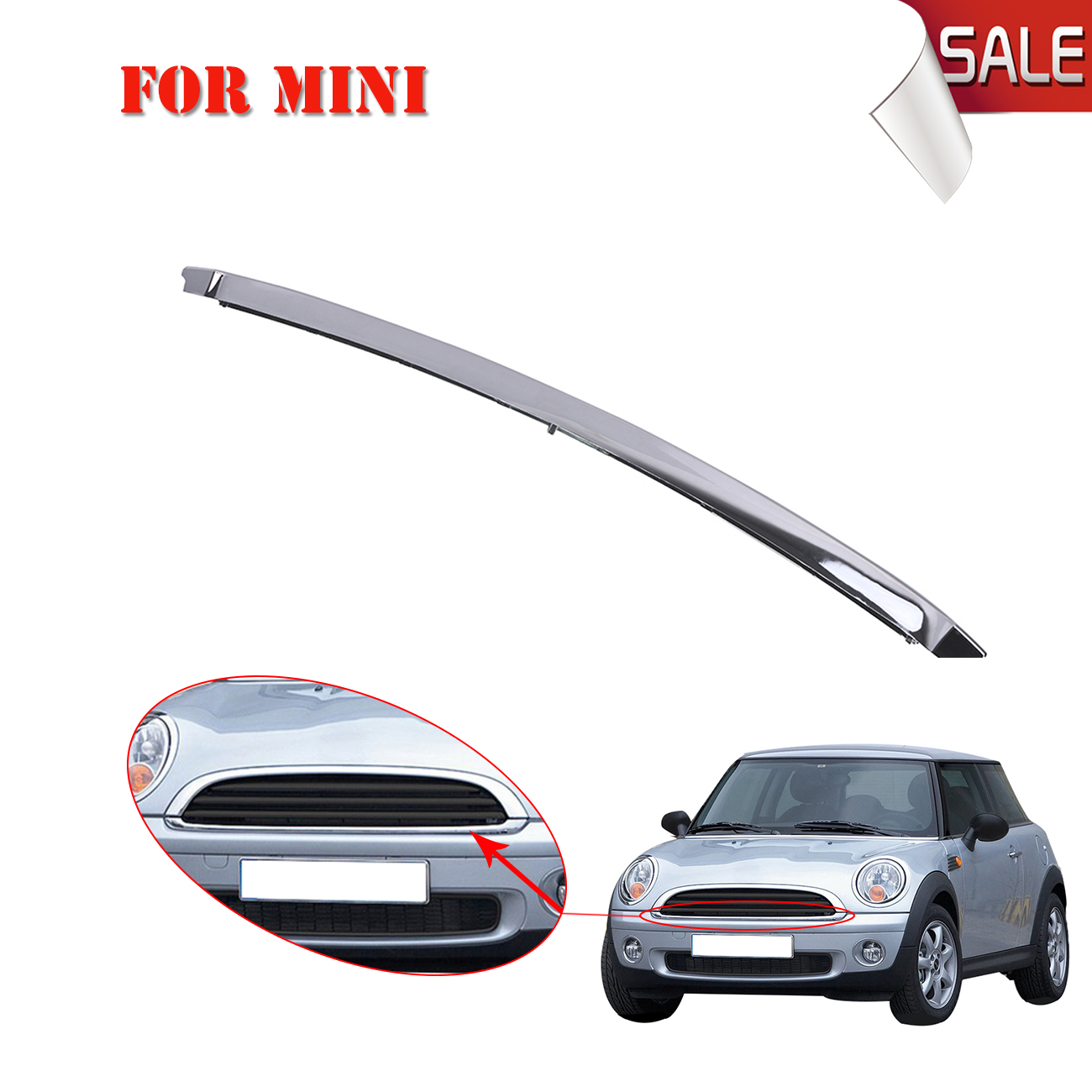 FOR 2007-2015 MINI COOPER FRONT BUMPER DRIVING REPLACEMENT CHROME FOG LIGHT LAMP