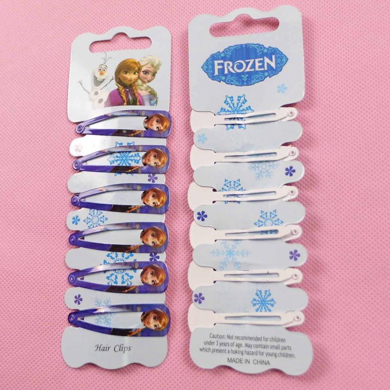 6pcs fashion European and American popular children's cartoon girl headdress hairpin hairpin plate hair hair accessories