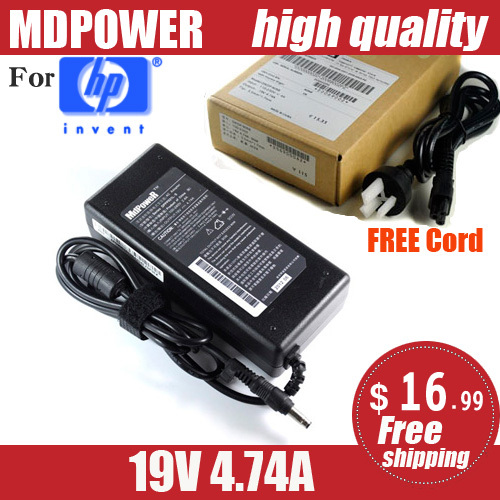 MDPOWER HP Pavilion dv6526TX dv6527TX dv6741TX Notebook laptop power supply AC adapter charger cord - MdpoweR store