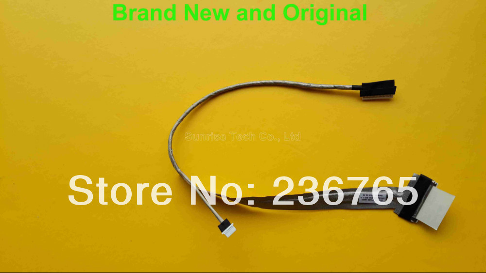 Brand New and original LVDS LCD Cable for HP 500 510 520 530 laptop cable HP 500 LVDS cable DC02000DY00 wire(China (Mainland))