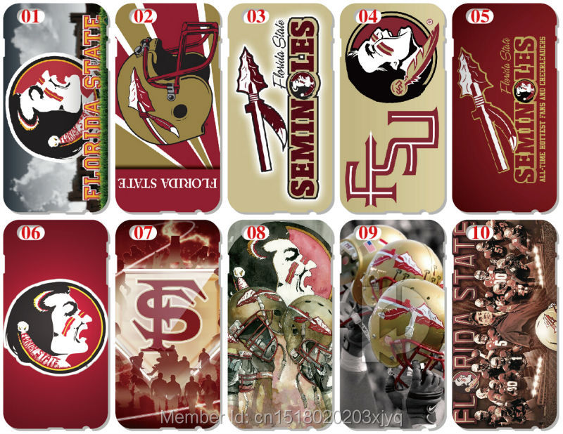 Wholesale Lot Florida State Seminoles Cell Phone Cover For iphone 4 4S 5 5S SE 5C 6 6S Plus For iPod Touch 4 5 6 Mobile Case(China (Mainland))